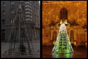 ChristmasTreeDayAndNight